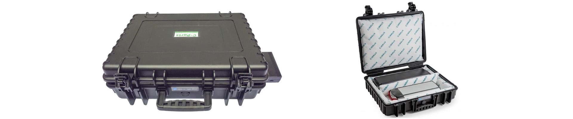 Slider C-Parts Accu veiligheidskoffer